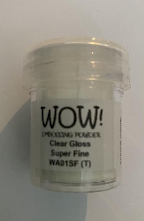 WOW! Emboss Powder Super Fine - Clear Gloss