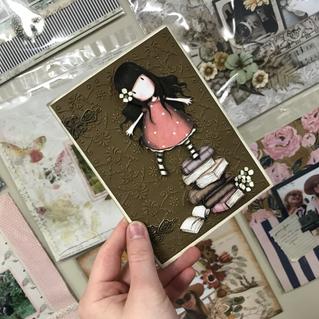 Gorgeous Girl Card