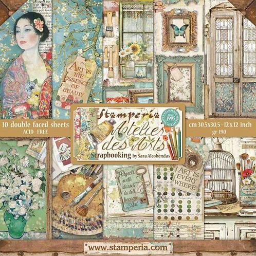 Stamperia - Atelier des Arts 12x12 Collection