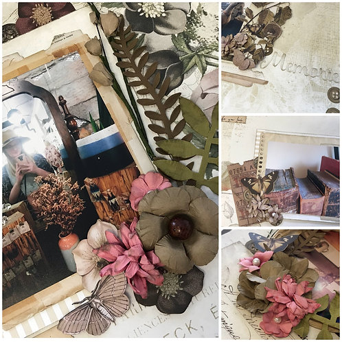 """""""Natural Vintage Artistry"""" Deluxe Layout Kit"""