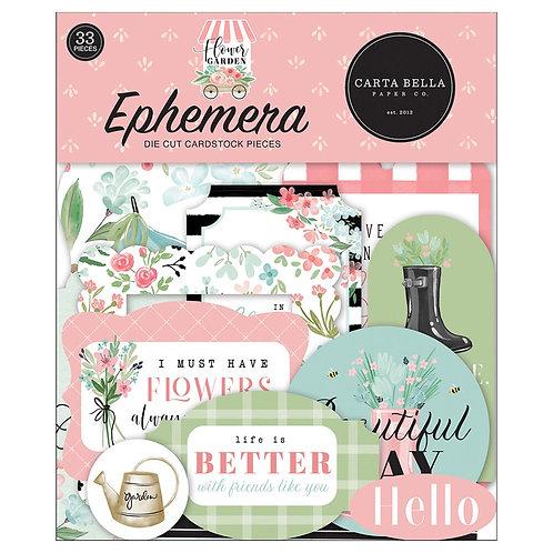 Carta Bella - Flower Garden Ephemera