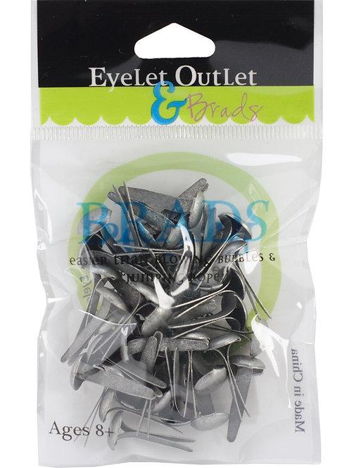 Eyelet Outlet - Brushed Silver (8mm)