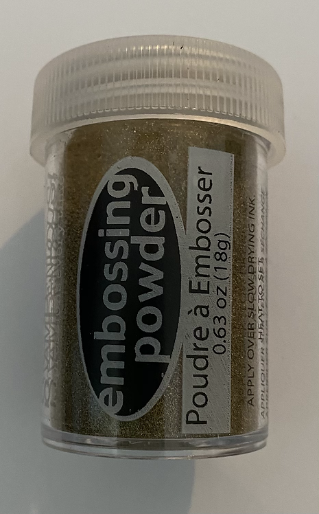 Stampendious Embossing Powder - Detail Gold