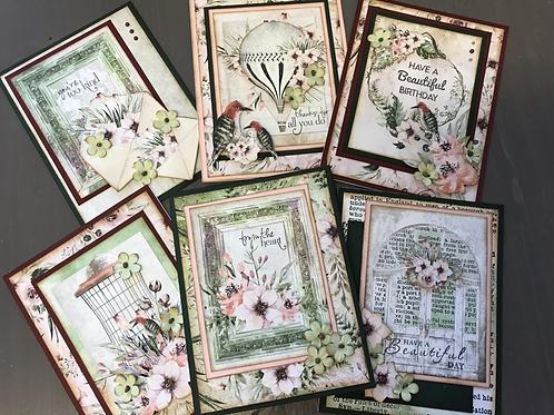 """Secret Place"" Card Kit -  Set of 6 Cards"