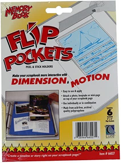 Memory Book Flip Pockets