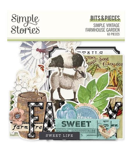 Simple Stories - Simple Vintage Farmhouse Garden - Bits & Pieces