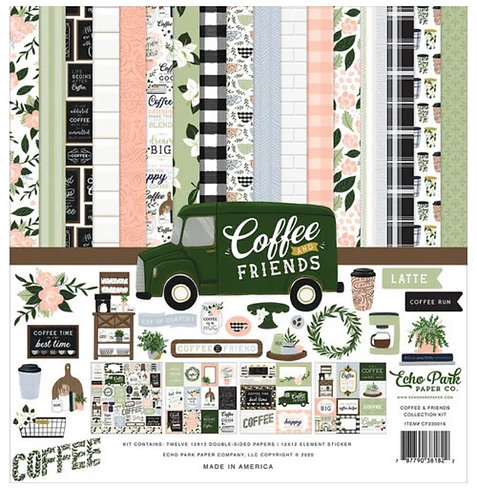 Echo Park - Coffee and Friends Collection Kit