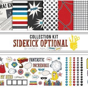 "Foundations - ""Sidekick Optional"" 12""x12"" Paper Collection Kit"