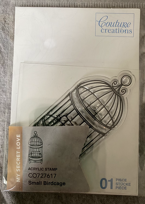 Couture Creations Stamps - Small Birdcage