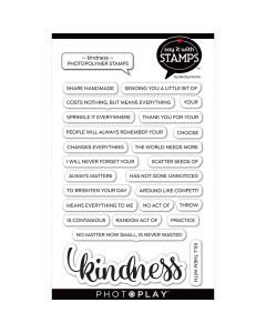 Photoplay - Kindness Photopolymer Stamps