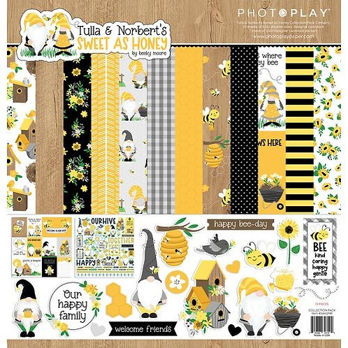 Photoplay - Sweet As Honey 12x12 Collection Pack