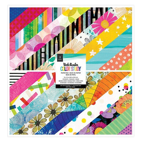 Vicki Boutin - Color Study - 12x12 Paper Pad