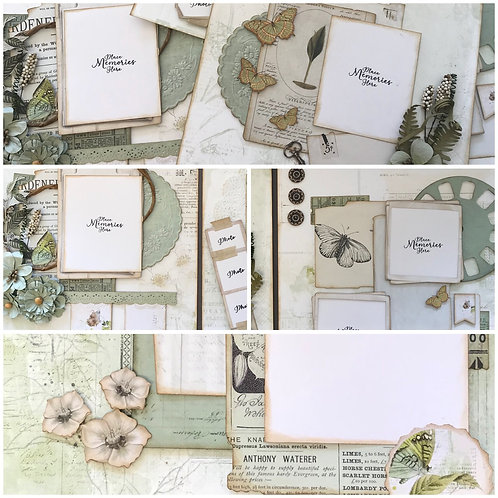 """Sage Vintage Artistry"" Deluxe Layout Kit"