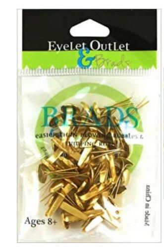 Eyelet Outlet - Shiny Gold (8mm)