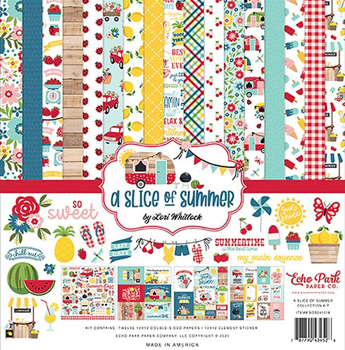 Echo Park - A Slice Of Summer 12x12 Collection Kit