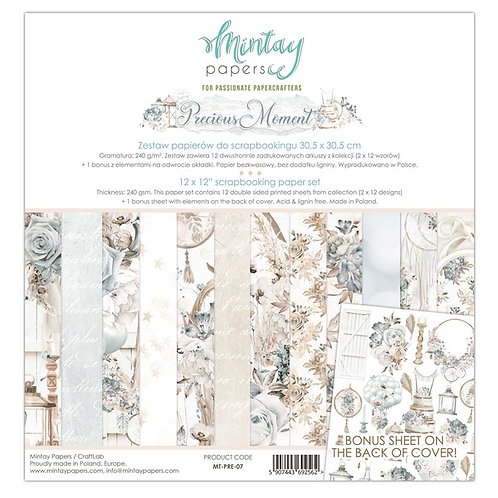 """Mintay Papers - Precious Moment 12""""x12"""" Paper Collection"""