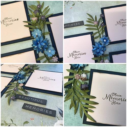 """Beautiful Memories"" Double Layout Kit"