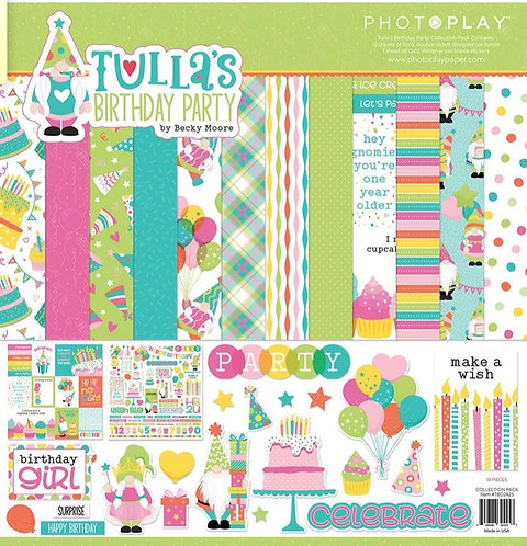 "Photoplay - Tulla's Birthday Party 12""x12"" Collection Pack"