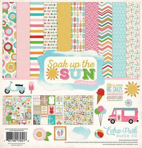 "Echo Park - ""Soak Up The Sun"" 12""x12"" Paper Collection"