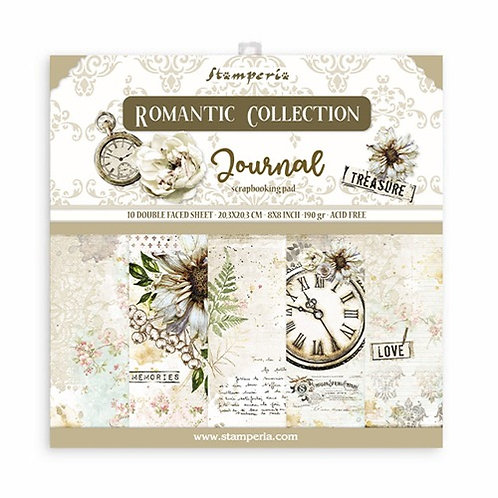 Stamperia - Journal 8X8 collection