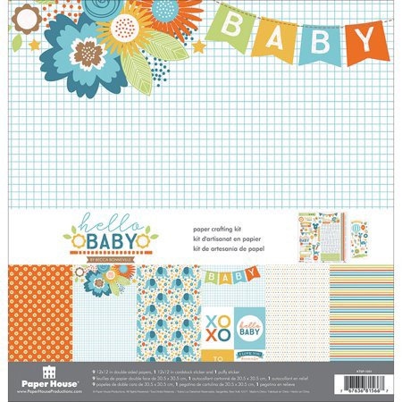 Paper House - Hello Baby 12x12 Collecion
