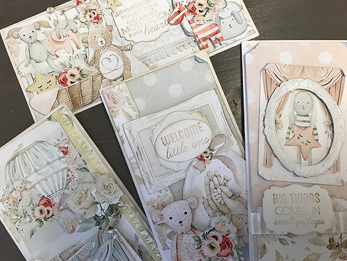 """""""Tiny Miracle"""" Card Kit - Set of 4 Cards"""