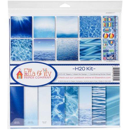 """Ella & Viv - H2O Kit 12""""x12"""" Collection"""