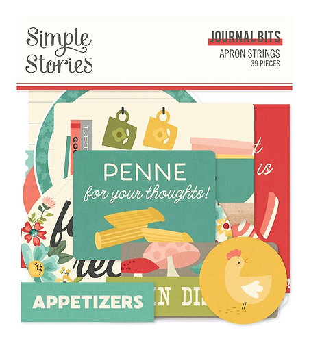 Simple Stories - Apron Strings Journal Bits