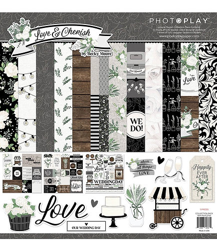 Photoplay - Love & Cherish 12x12 Collection Pack