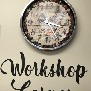 Scrappin with T Dalmeny Clock