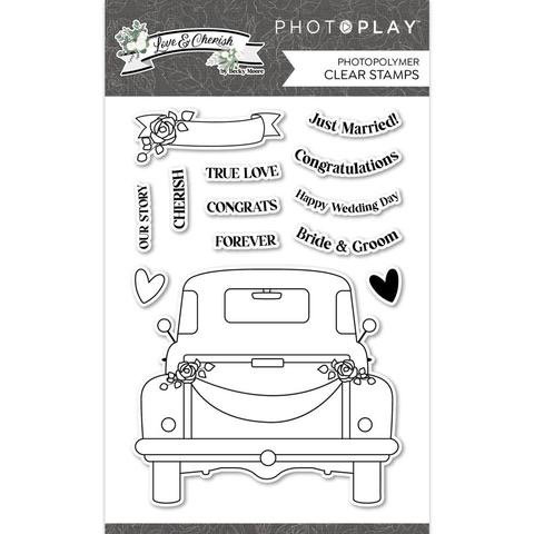 Photoplay - Love & Cherish - Clear stamps