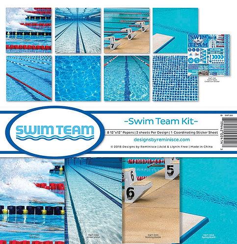 "Designs by Reminisce - Swim Team Kit 12""x12"""