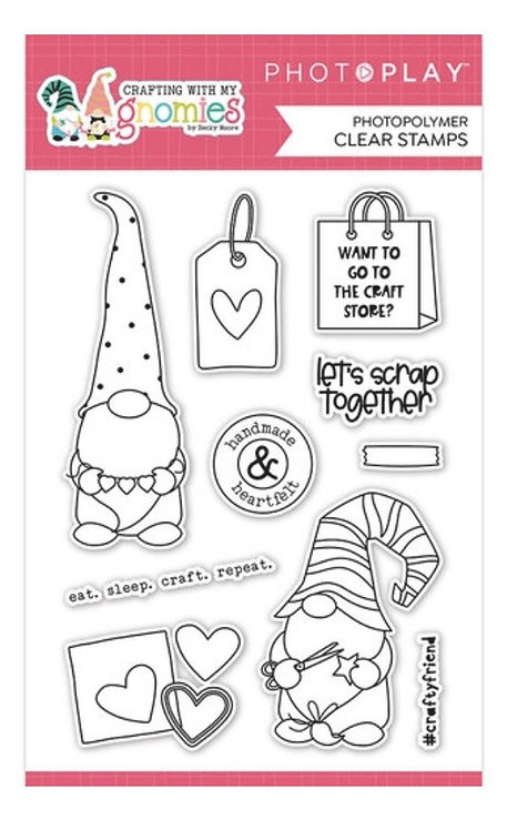 Photoplay - Crafting With My Gnomies Stamps