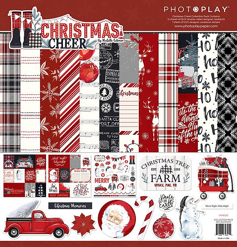 "Photoplay - ""Christmas Cheer"" 12""x12"" Paper Collection"