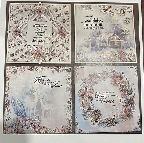 Winter Wishes Card Kit