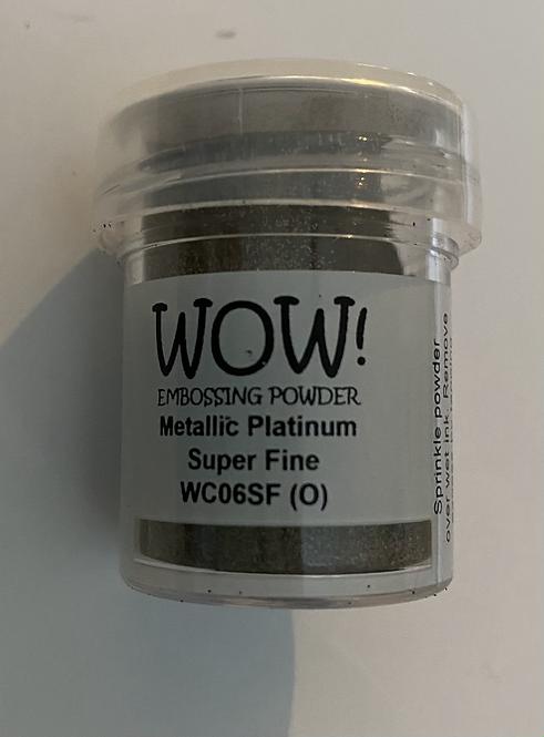 WOW! Emboss Powder Super Fine - Metallic Platinum