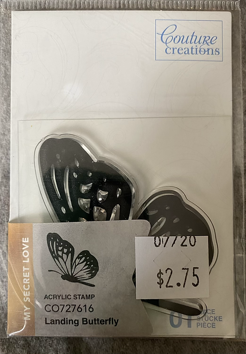 Couture Creations Stamps - Landing Butterfly