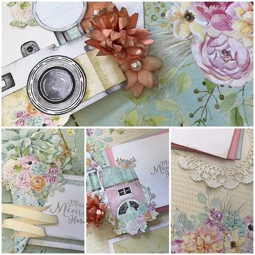 """Lovely Day"" Double Layout Kit"
