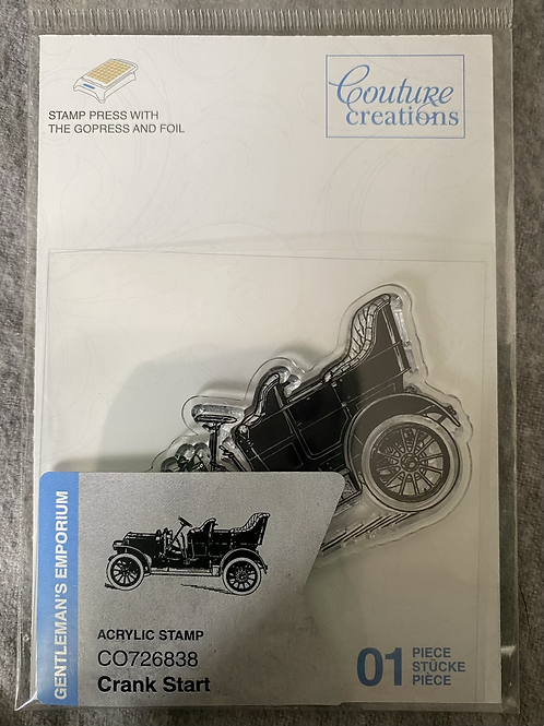 Couture Creations Stamps - Crank Start
