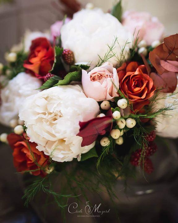 Souvenir du  bouquet de mariée de Joséph