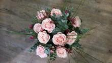 Un bouquet livré !