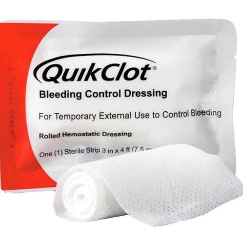 QuikClot Rolled gauze