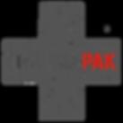grey cross black background, black traum