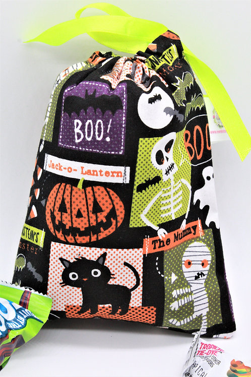 Halloween Treat Bags 5X7""