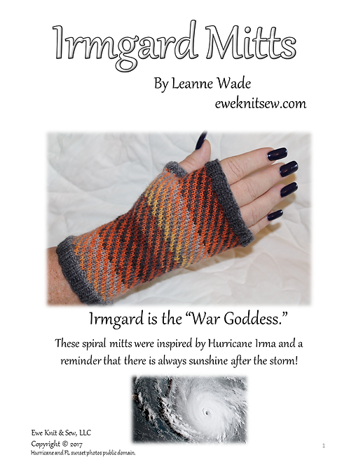 Irmgard Mitts Pattern