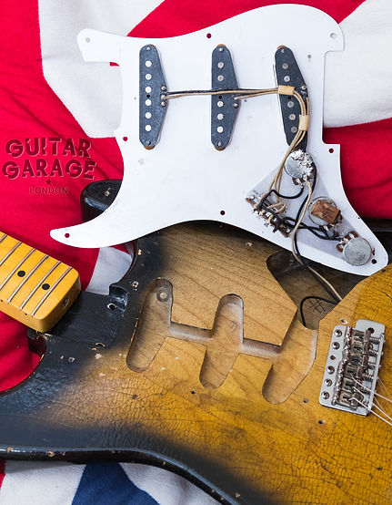 Fender Stratocaster electronics and wiring