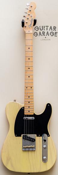 2016 Fender USA Butterscotch Blonde Blackguard Telecaster