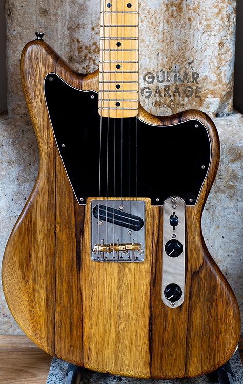 Jazzcaster Telemaster Korina Custom Offset - Fender Japan 1988 neck - Humbucker