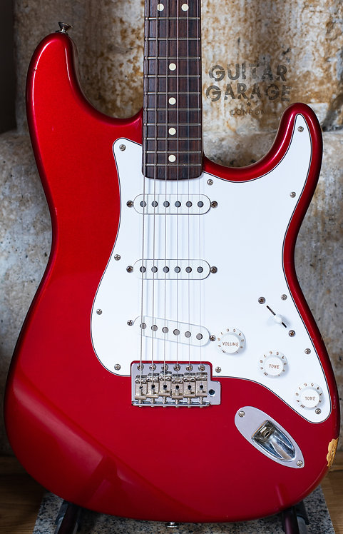 Fender Stratocaster - California Series - USA - Candy Apple Red (1997)