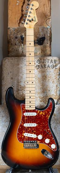 1987 Fender Japan Stratocaster 3-tone Sunburst Tortoiseshell